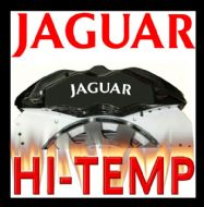 JAGUAR HIGH TEMPERATURE BRAKE CALIPER DECAL SET
